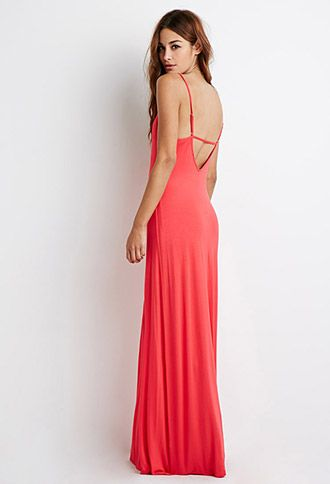 Cut-Out Coral Maxi