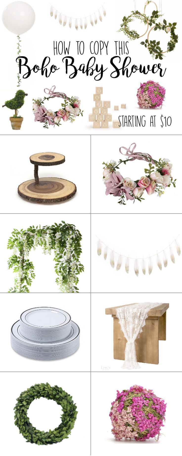 Boho Baby Shower Ideas – Elegant theme for boy or …