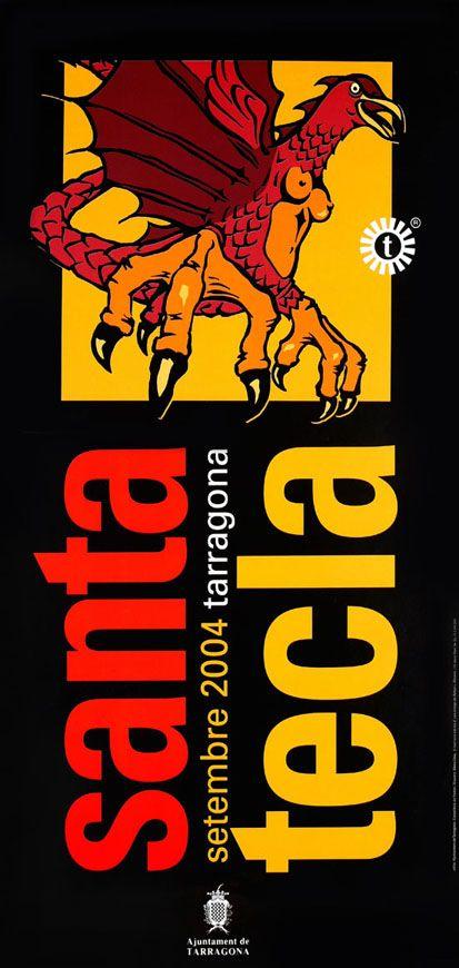 cartells santa tecla tarragona -2004