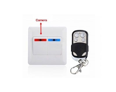 AMS Security offer Buy best High Resolution Spy Mini Switch Camera with best picture quality in Delhi India at amazing discount rate.