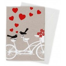Bicycle Built For Two card by Earth Greetings
