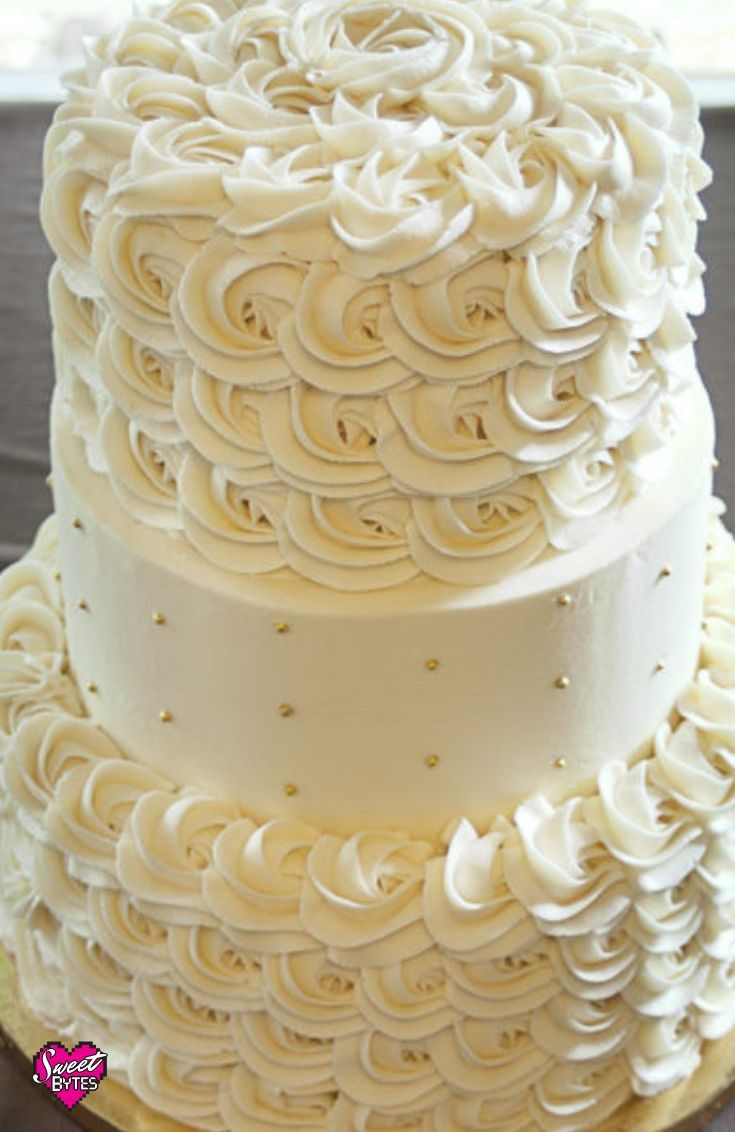 Vanilla Buttercream Frosting Recipe Sweet Bytes Okc Recipe Wedding Cake Icing Wedding Cake Icing Recipe Best Buttercream Frosting