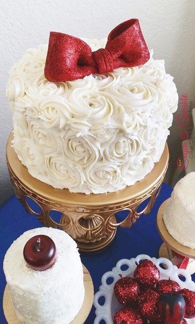 Disneyテーマのpartyは大人っぽさが重要♡大人のための白雪姫sweetsアイデア♡にて紹介している画像