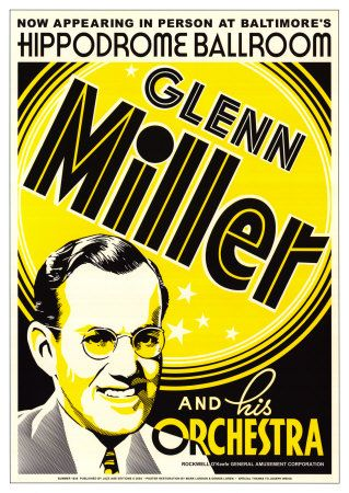 glenn miller poster