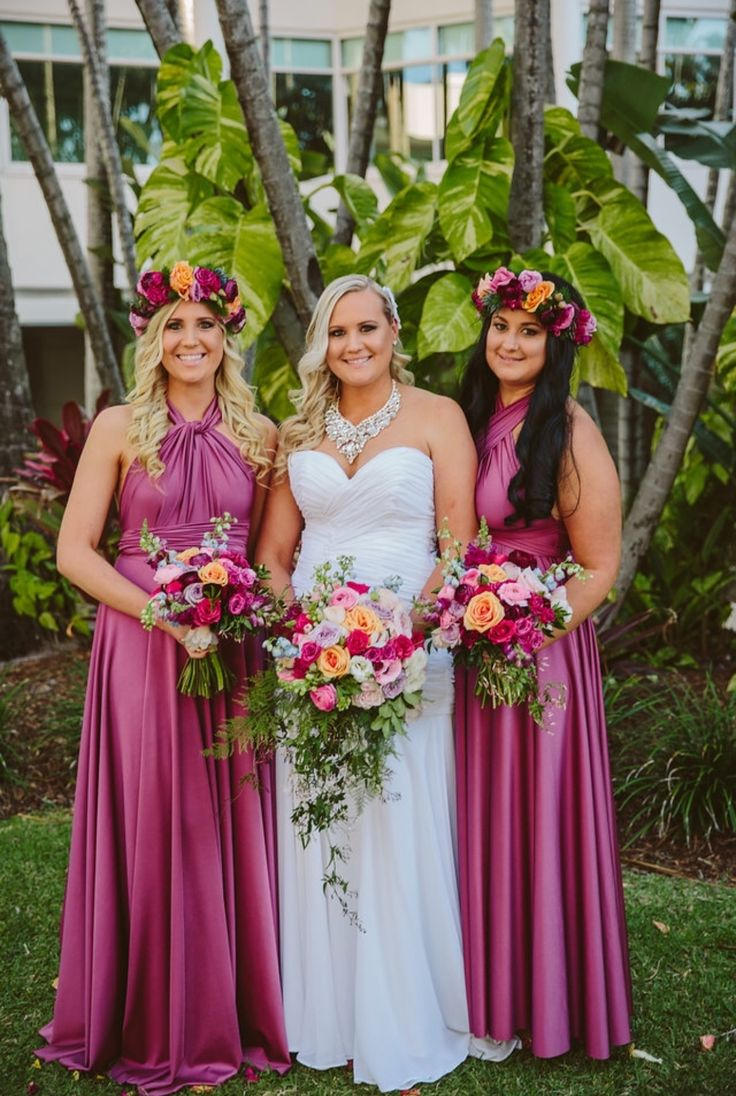 314 best multiway bridesmaid dresses images on pinterest our signature multiway bridesmaids gowns color flirt goddess by nature ombrellifo Images