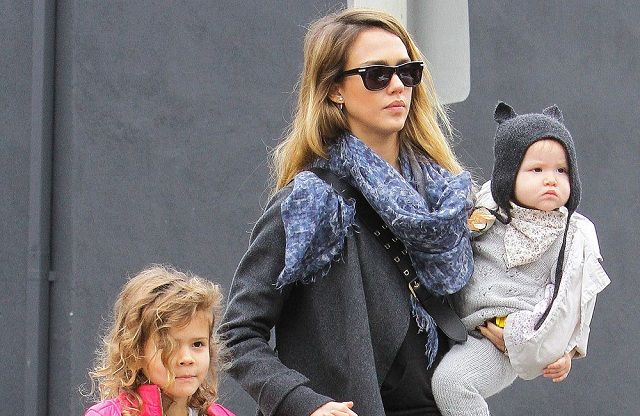 Jessica Alba's kids get crazy on sugar