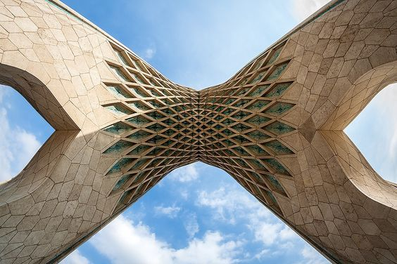 Photo by Ali Rezaeian on Fivehundredpx Azadi (Liberty) Tower is one of the symbols of Tehran City, the capital of Iran, and marks the west entrance to the city.