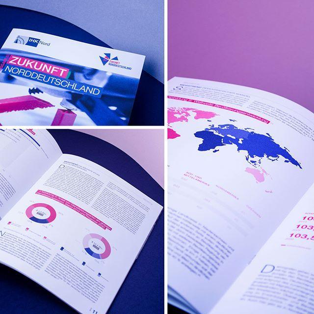 stilwaechter Wir lieben Infografiken – umso schöner war es die zweite Ausgabe des IHK Nord Magazins zu gestalten und dieses eher trocken anmutende Thema zeitgemäß und grafisch im Editorial-Design zu visualisieren. Wir freuen uns auf die nächste Ausgabe. #stilwaechter #infografiken #infographic #infografica #IHK #hamburg #norden #trends #magazin #print #weloveprint #printisnotdead #pink #blue #colonnaden #agency #design #statistic #analytics #typo #editorial #graphicdesign
