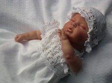 Ubranko do chrztu Biały Kwiatuszek ©