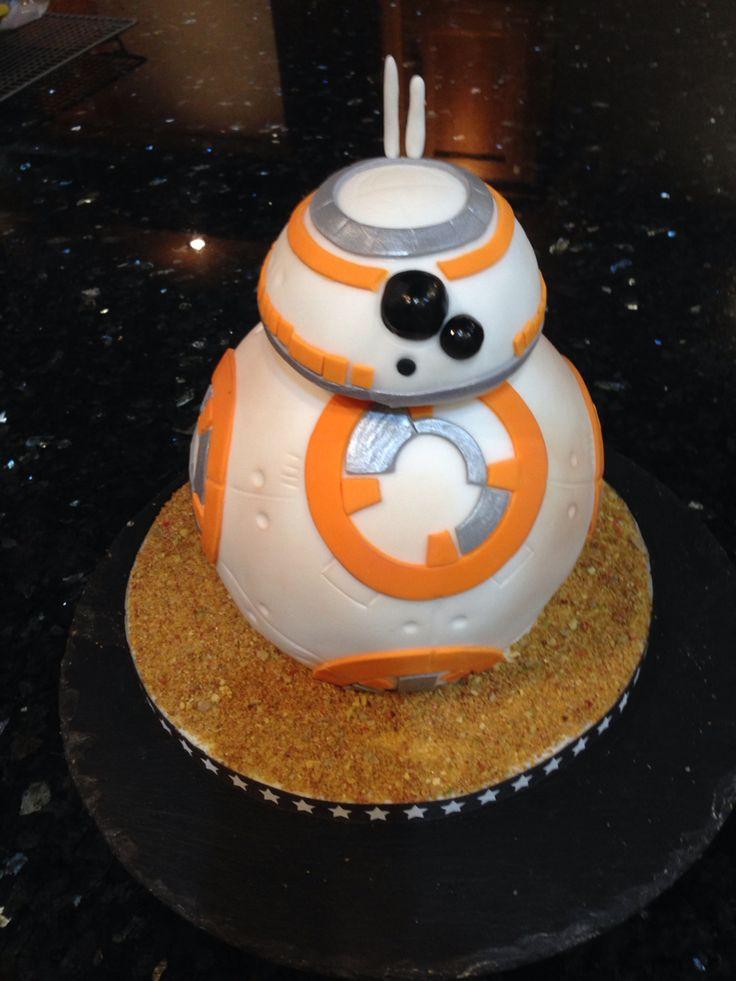 BB8 cake Star Wars
