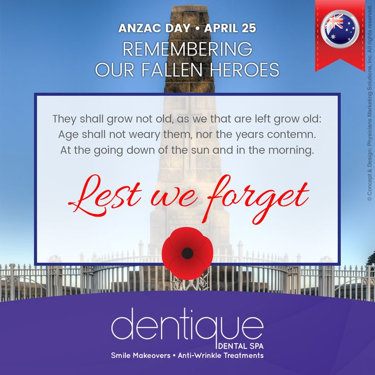 #ANZACDay — REMEMBERING OUR FALLEN HEROES / They shall grow not old, as we that are left grow old: Age shall not weary them, nor the years contemn. At the going down of the sun and in the morning. Lest We Forget.