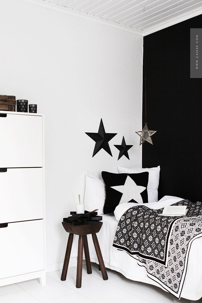 black, white + walnut | CAISA K: BLOSSOM