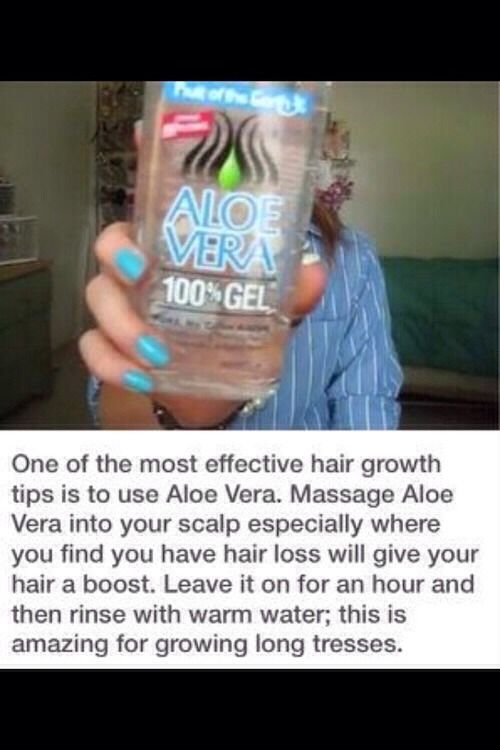 I use it to fight frizz- I rub aloe into the tips after towel drying washed hair, and again when fully dry