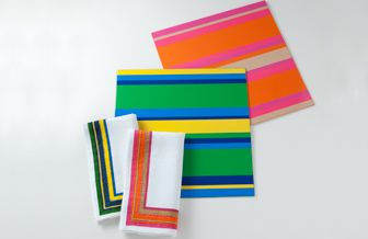 Colorful Tabletop Accessories by Kim Seybert - ELLE DECOR