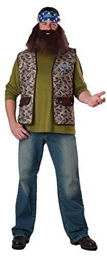 GTH Mens Tv Characters Duck Dynasty Willie Party Fancy Costume One Size * Click image to review more details.