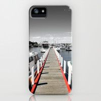 Follow the red Line iPhone & iPod Case by Chris' Landscape Images of Australia | Society6