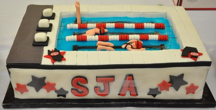 Swim team party