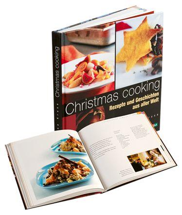 """""""Christmas cooking"""" von Hanne Kruse // 50 beliebte Weihnachtsrezepte aus verschiedenen Ländern, deren Herkunft und kultureller Hintergrund, Weihnachtsbräuche erläutert werden. Schön!"""