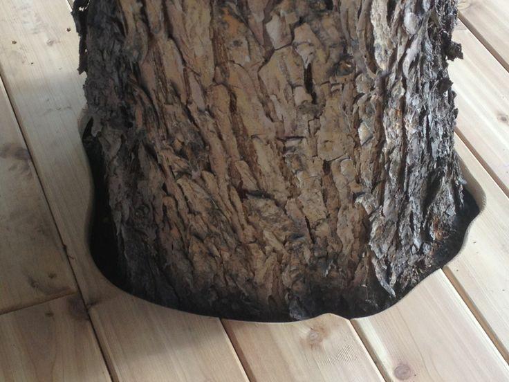 Cedar Deck around Tree. www.thelittledecker.ca