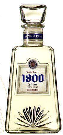 Liquorama - 1800 Silver Tequila 750ML, $29.99 (http://www.liquorama.net/1800-silver-tequila-750ml.html/)