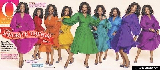 oprah: Favorite Things, December 2011, Oprah Winfrey, Oprah Magazines, Colors, Rainbows, O' Magazines, Magazines Covers, Queen Mothers
