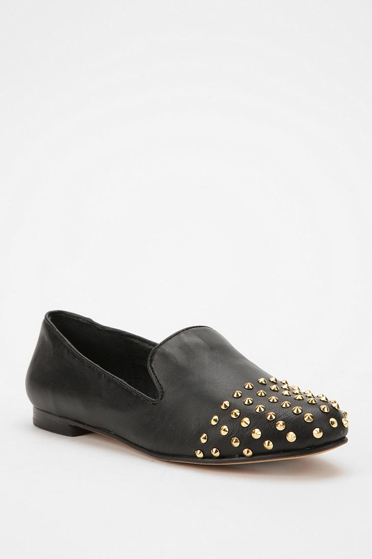 Shop Steve Madden Melter Leather Stud Loafer at Urban Outfitters today. We  carry all the latest styles, colors and brands for you to choose from right  here.