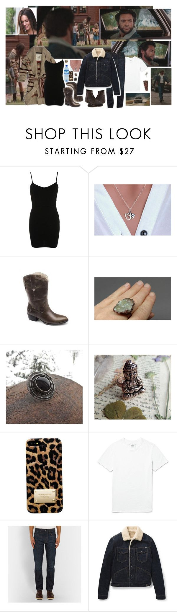 """""""WOLVERASTET - BASTET & WOLVERINE CANADA TRIBUTE"""" by carla-turner-bastet ❤ liked on Polyvore featuring Ed Hardy, Miss Selfridge, Cadeau, Harley-Davidson, Michael Kors, Reigning Champ, Therapy, J.Crew, Tom Ford and Brooks Brothers"""