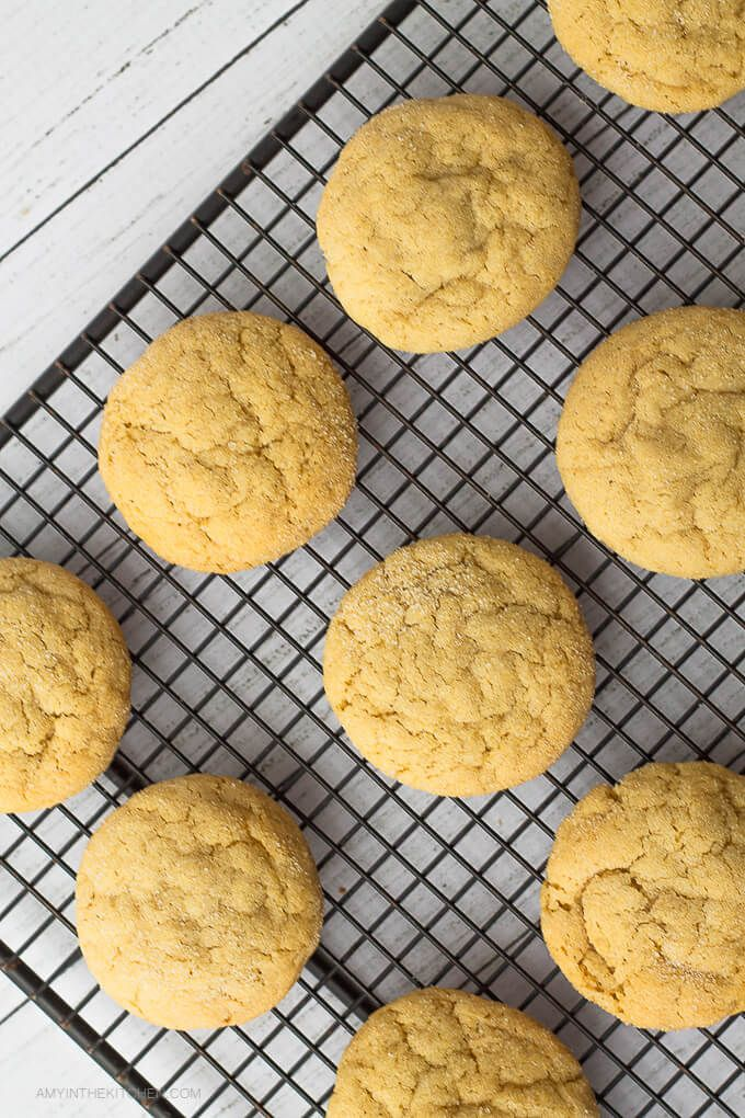 """Looking for a new sugar cookie recipe? Try this recipe for """"Secret Ingredient"""" Blondie Sugar Cookies. They are super moist and chewy!"""