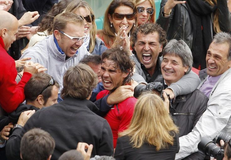 Una selección de fotos del histórico pulso entre el serbio y el español, que logró imponerse de nuevo en Roland Garros