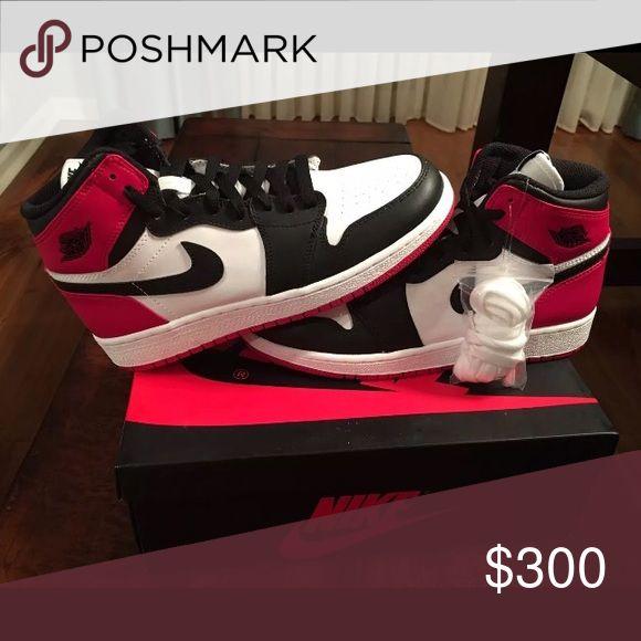 Air Jordan 1 black toes size 11 Brand new Air Jordan 1 black toes size 11 Jordan Shoes Sneakers