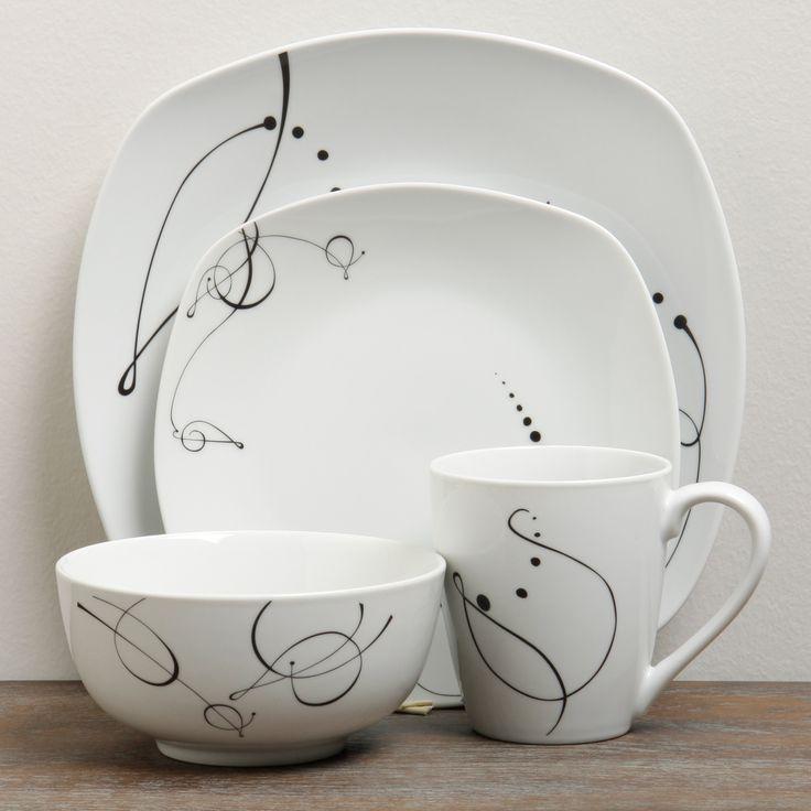 ttu gallery 16piece dinnerware set by ttu gallery