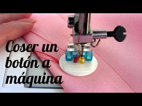 Coser un botón con máquina de coser | EL BAÚL DE LAS COSTURERAS