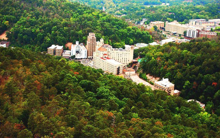 hot springs arkansas | Downtown Hot Springs, Arkansas Desktop Wallpapers and Backgrounds