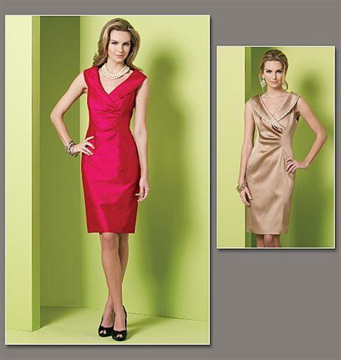 Patron de robe - Vogue 1182