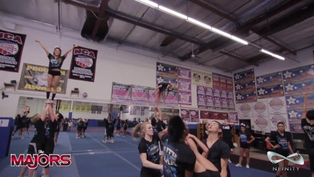 California All Stars Large Coed prepare for the 2013 MAJORS by The JAM Brands
