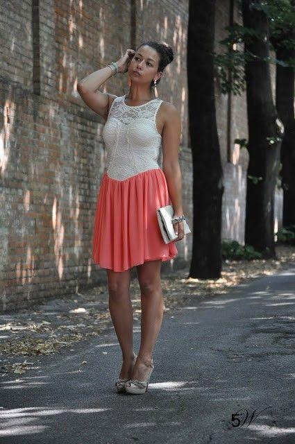 Luana per il suo outfit ha sceltio di indossare #bijoux paviè http://style5w.blogspot.it/2013/07/magia.html