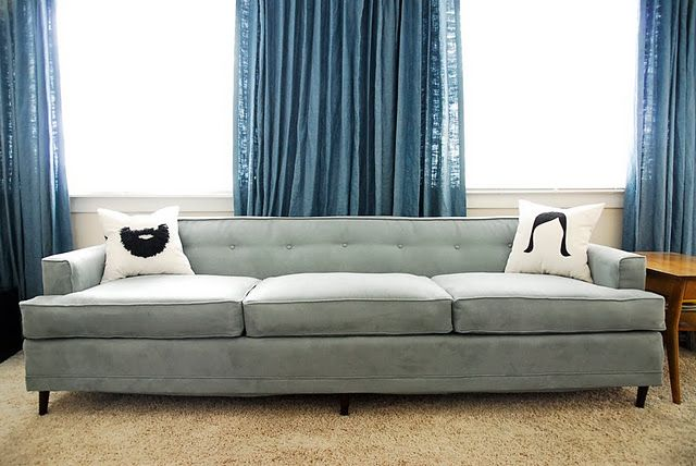 Couch reupholstery project. Also has time lapse video of process...v cool!