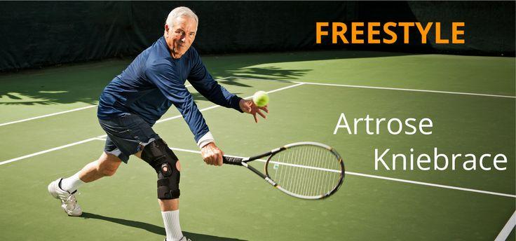 Blijf bewegen met de Breg Freestyle artrose #kniebrace
