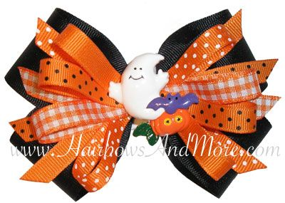 HairbowsAndMore.com - Halloween Bow