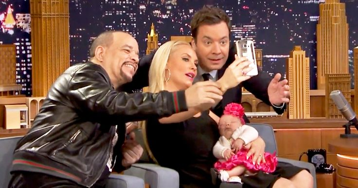 Coco Austin and Ice T's daughter, Chanel, made her 'Tonight Show' debut on Wednesday, March 23 — watch her meet her 'rich uncle' Jimmy Fallon!