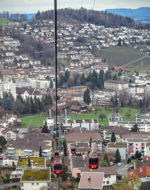 Long Winter Weekend Lucerne Switzerland - Cable Car to Mount Pilatus