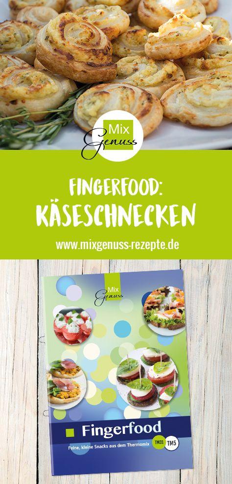 Käseschnecken – MixGenuss Blog