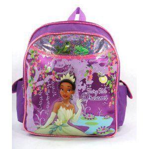 Disney Princess and the Frog   Evening Star   12' Toddler Size Backpack. #Disney #Princess #Frog #Evening #Star #Toddler #Size #Backpack