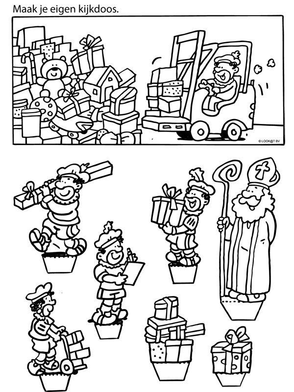 Sinterklaas kijkdoos