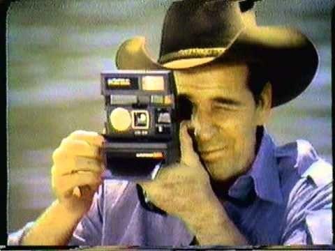 1981 Polaroid Sun Camera commercial. Featuring James Garner & Mariette Hartley