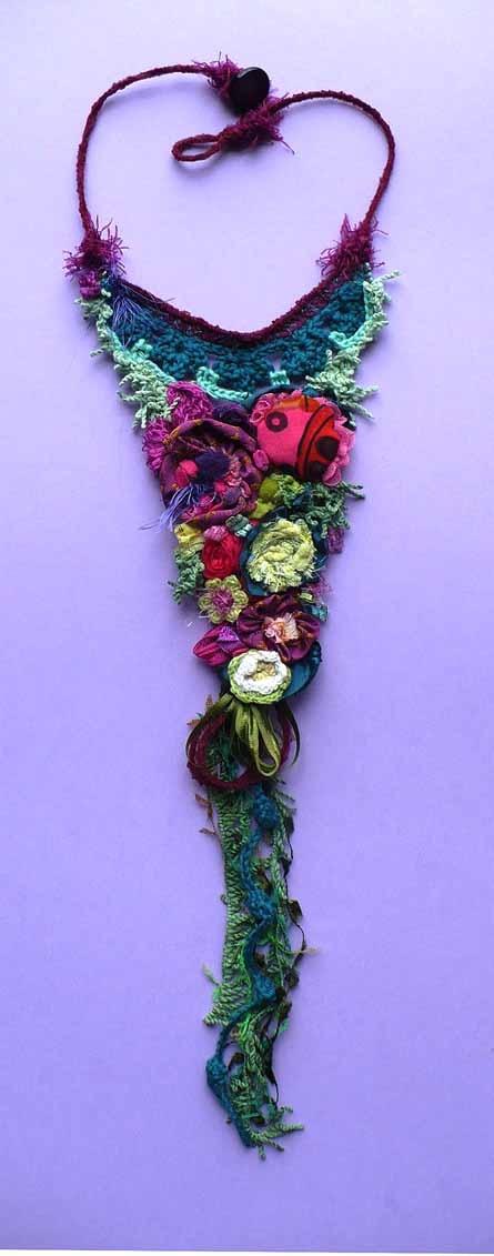 Bijoux textile Elena Fiore www.elenafiore.it