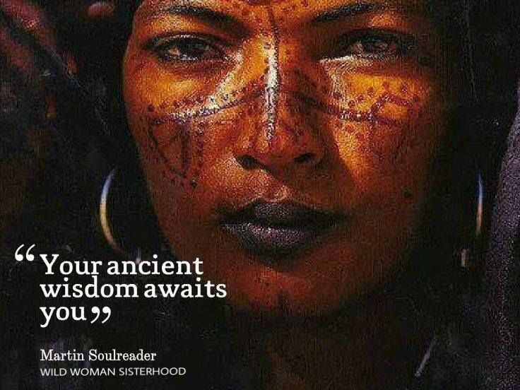 Your ancient wisdom awaits you...to surrender to who you really are!
