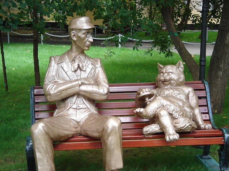 Патриарший пруд / кот бегемот