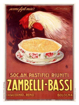 Zambelli: Bassi Lámina giclée por Achille Luciano Mauzan en AllPosters.es