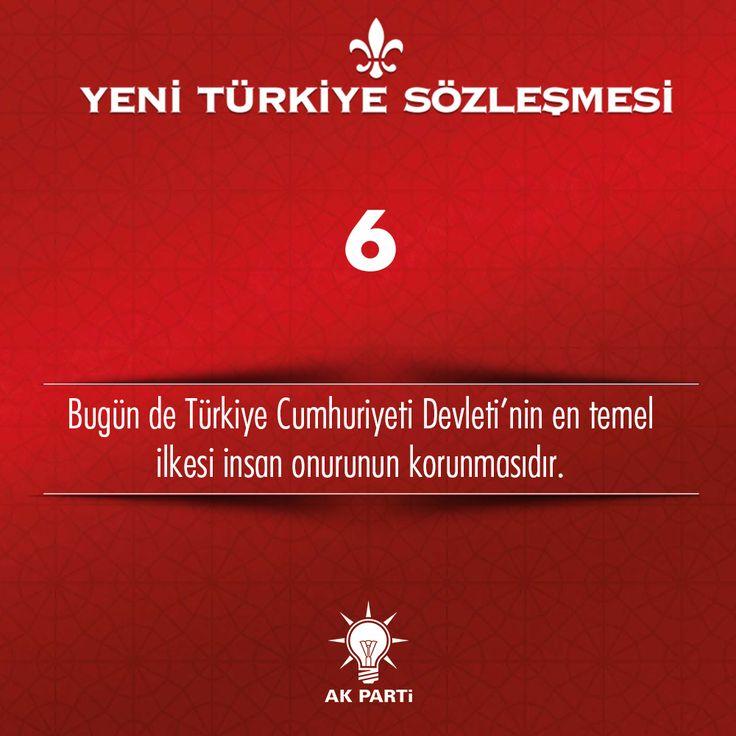 6.Madde, #YeniTürkiyeSözleşmesi